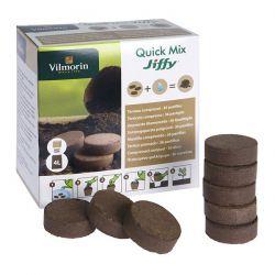 Prasowane podłoże Jiffy Quick Soil Mix 36 szt. Vilmorin