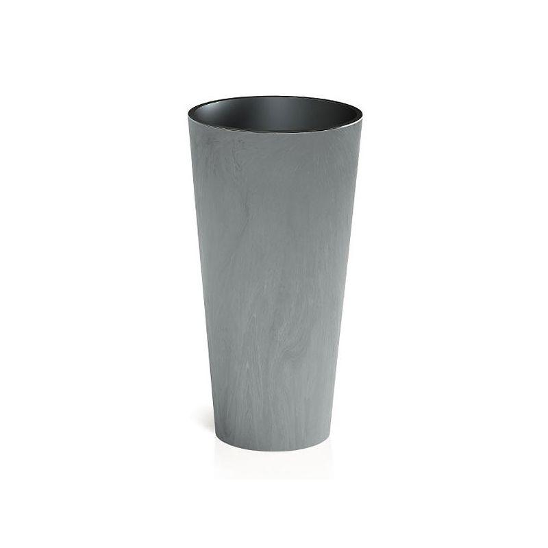 Doniczka Tubus Slim Beton Prosperplast