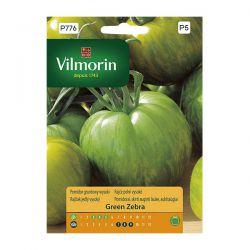 Pomidor gruntowy wysoki Green Zebra Vilmorin
