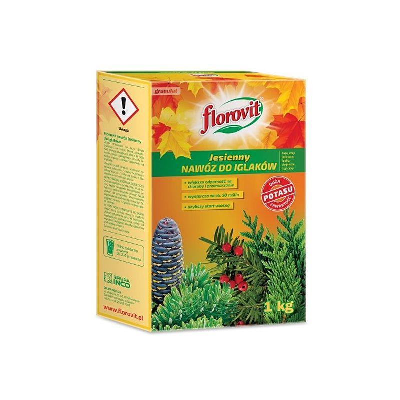 Nawóz jesienny do iglaków Florovit