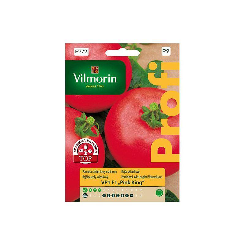 Pomidor szklarniowy malinowy Pink King Vilmorin
