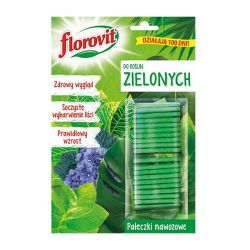 Pałeczki nawozowe do roślin zielonych Florovit