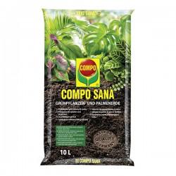 Podłoże do roślin zielonych i palm Compo Sana